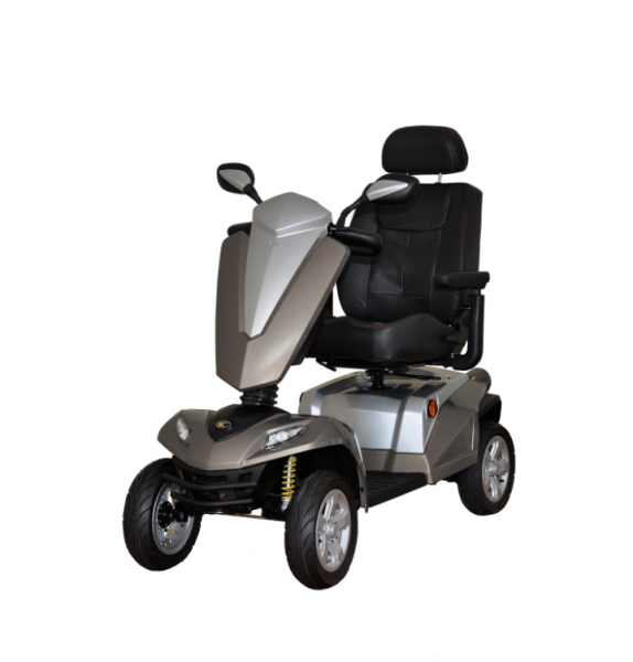 KYMCO TEXEL 4-Rad-Scooter Bronze/Silber 15 km/h