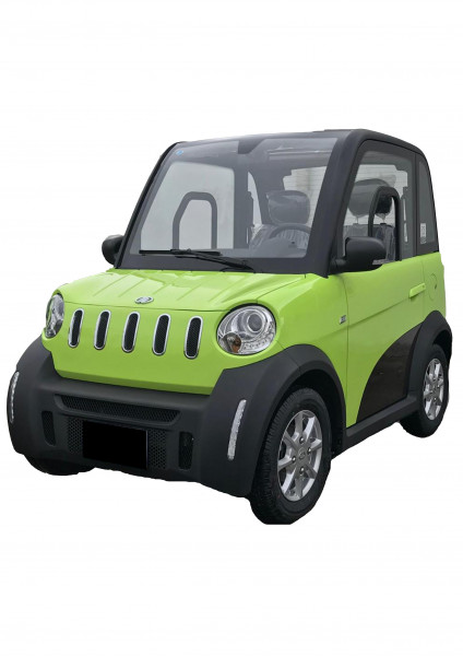 MICAN Micro-Car 4-Rad-Elektro-Kabinenroller GRÜN
