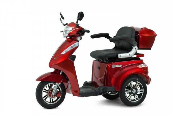 ECONELO Elektro-Dreiradroller S1000 Rot