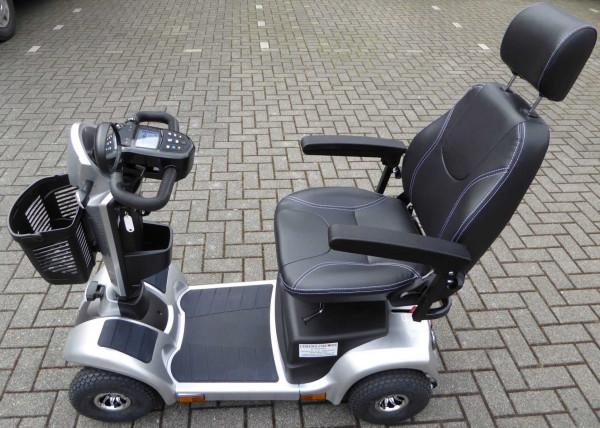 Lebensfreude Elektro-Scooter Exclusiv-Modell 15 km/h Silber