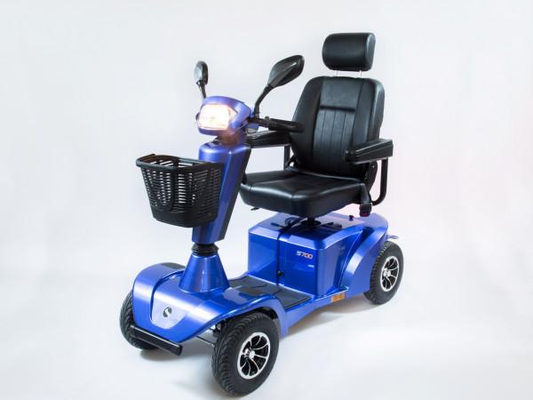STERLING Mainland 4-Rad-Scooter Blau 15 km/h